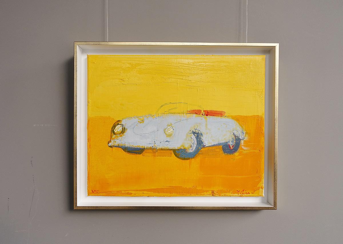 Jacek Łydżba : Old white Porsche