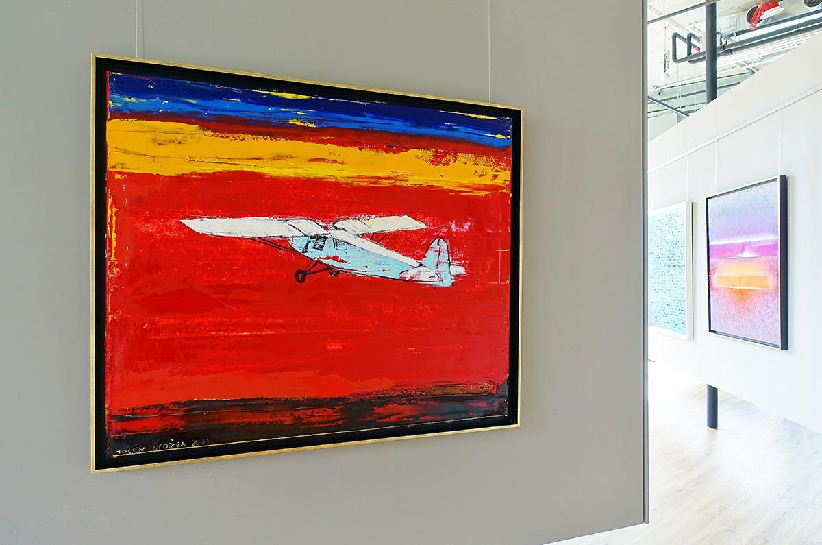 Jacek Łydżba : Sunset flight