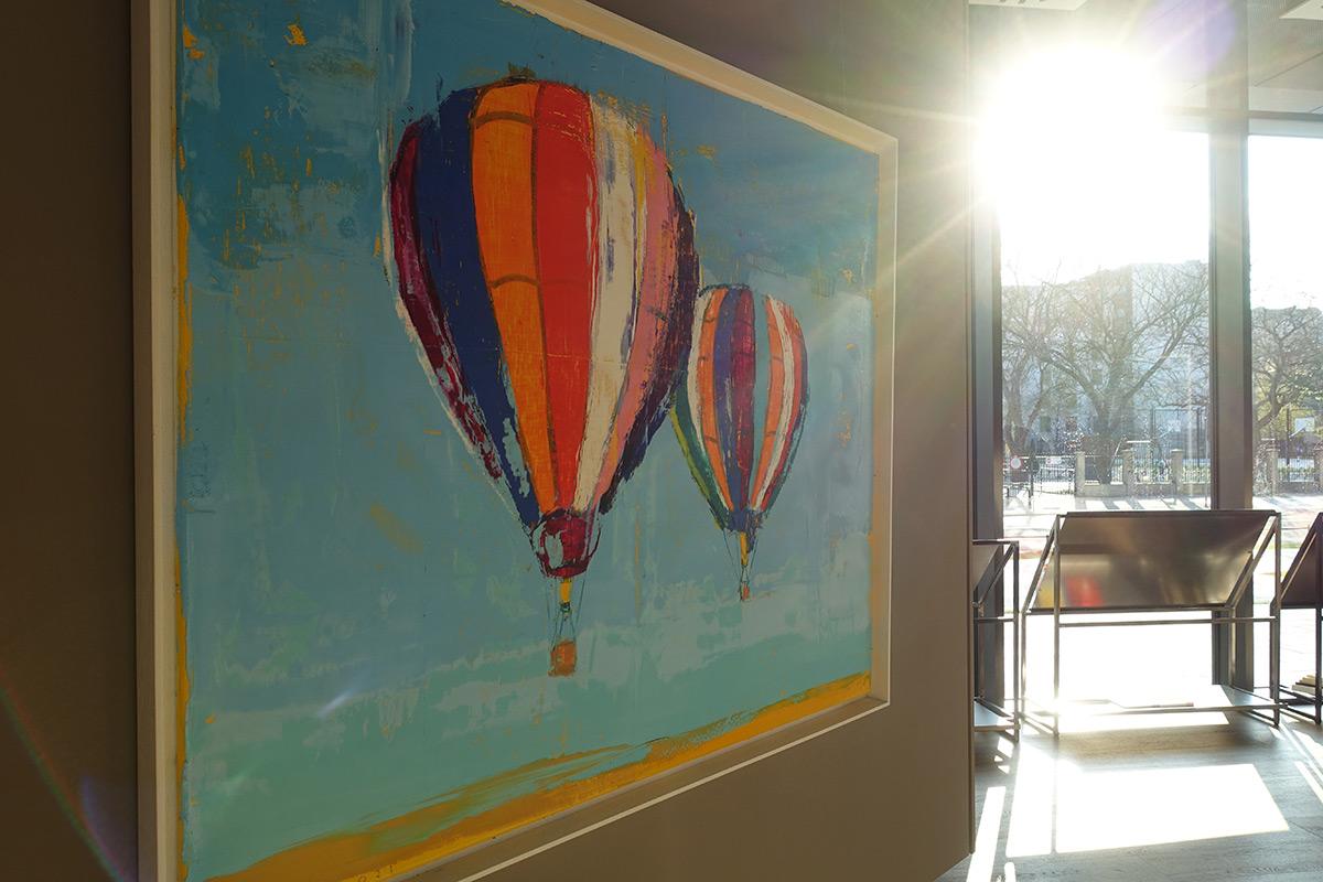 Jacek Łydżba : Two balloons
