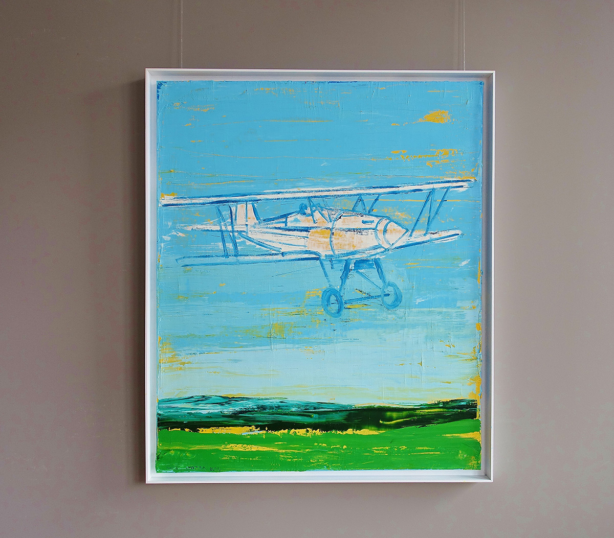 Jacek Łydżba : White plane