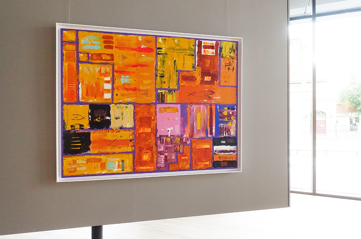 Krzysztof Pająk : DNA codes - orange