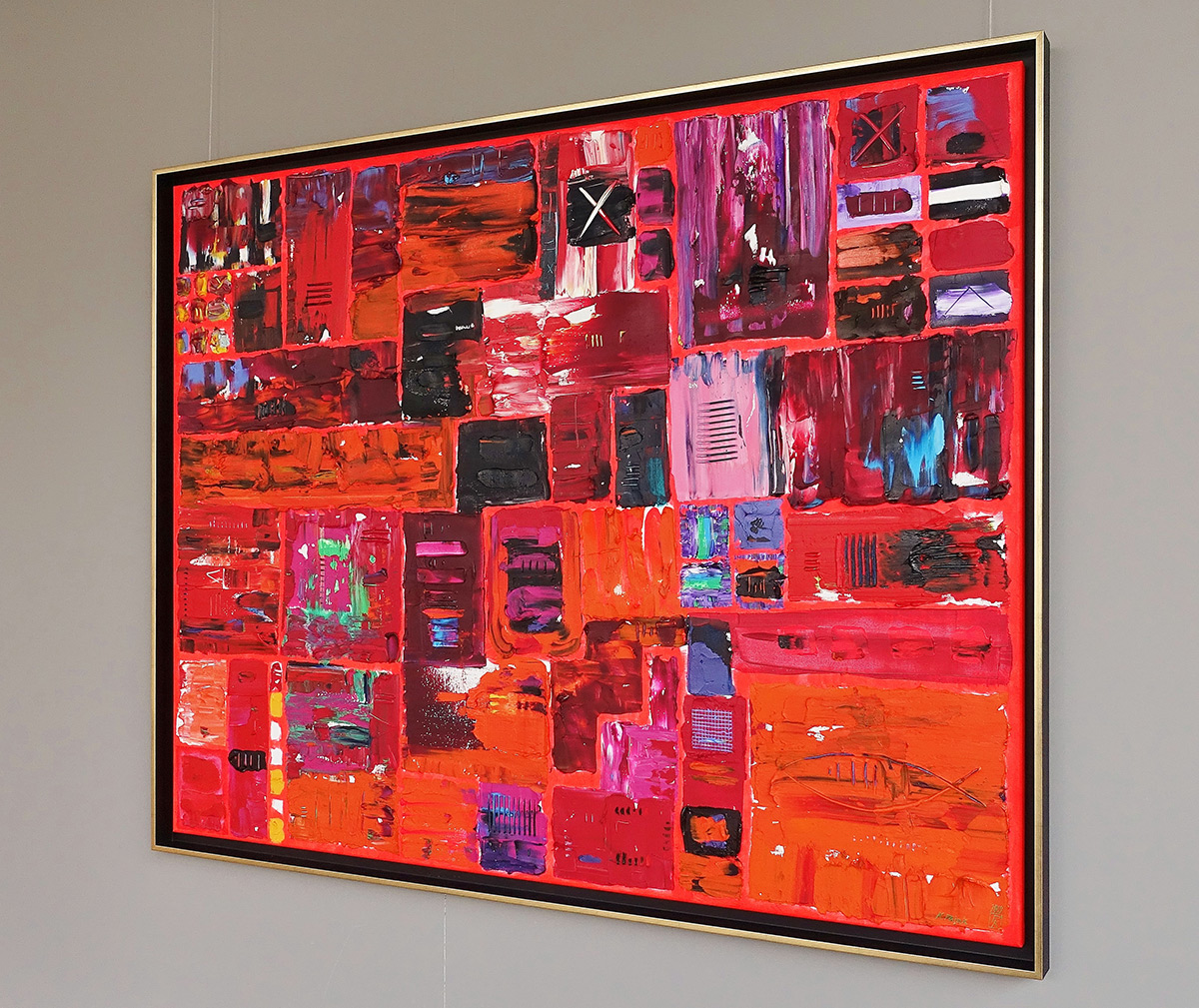 Krzysztof Pająk : DNA codes - Red