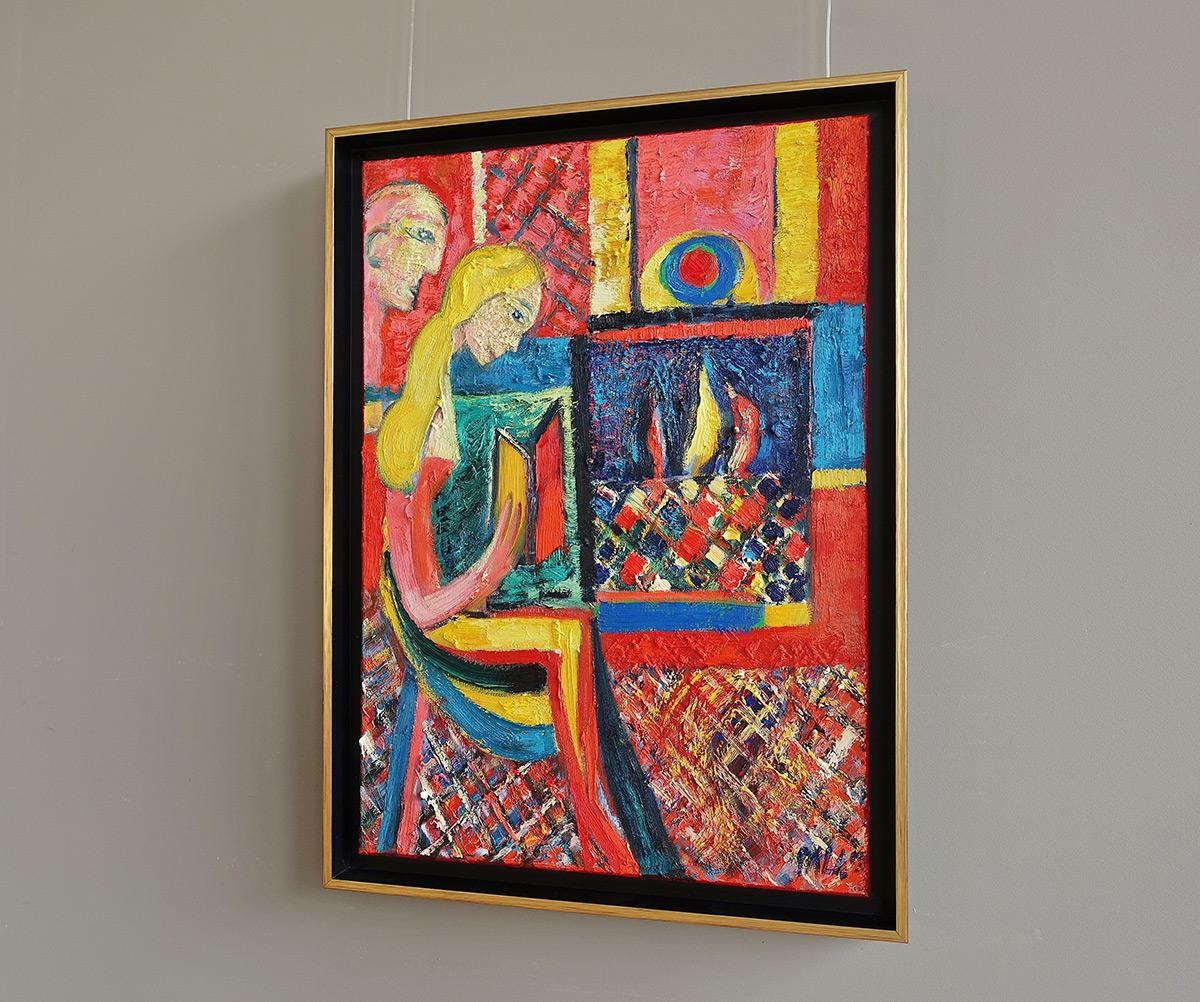 Darek Pala : Book fireplace and Aladdin