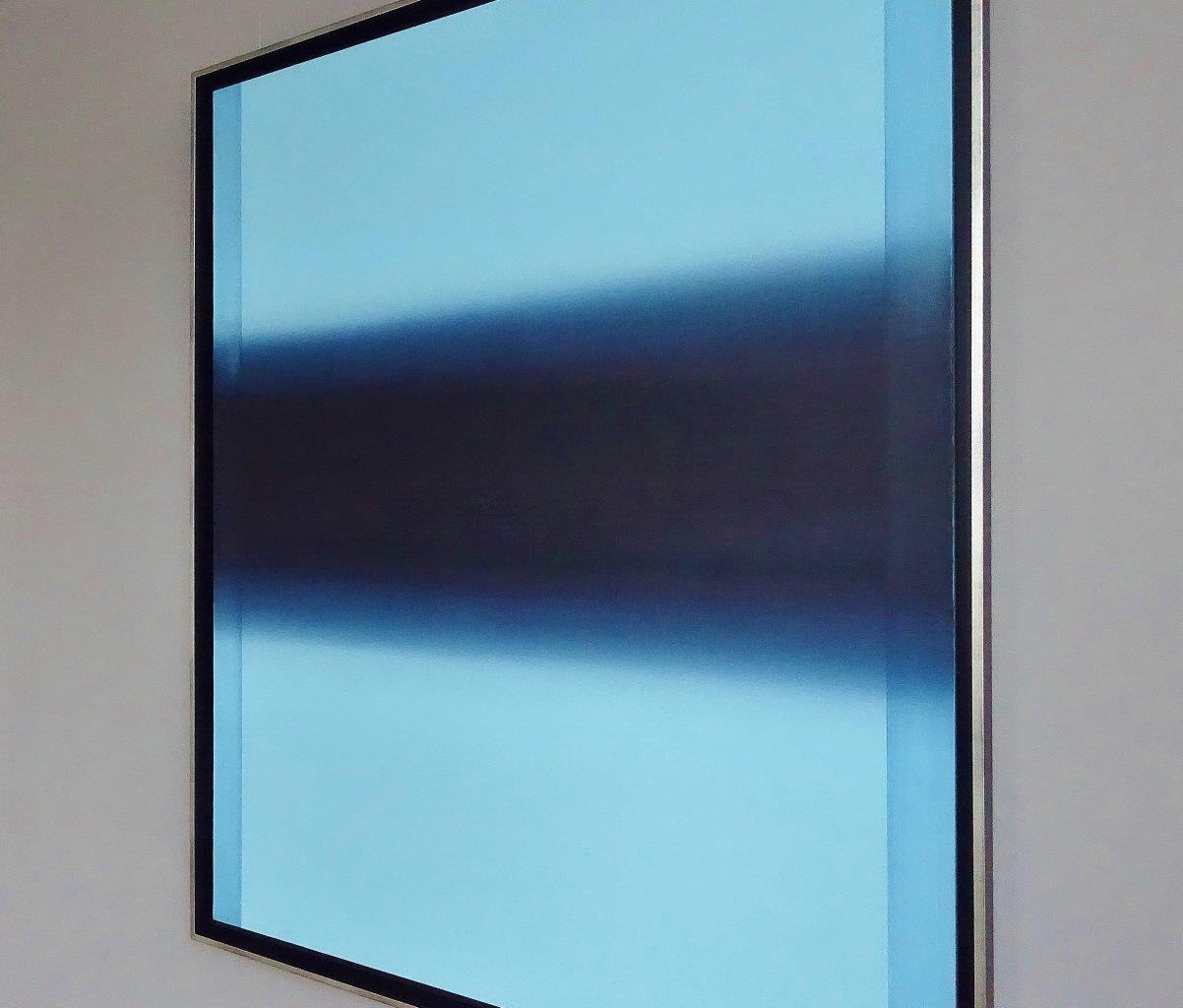 Anna Podlewska : Saturation of blue