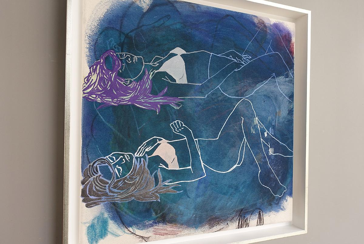 Agnieszka Sandomierz - Relax for two in blue