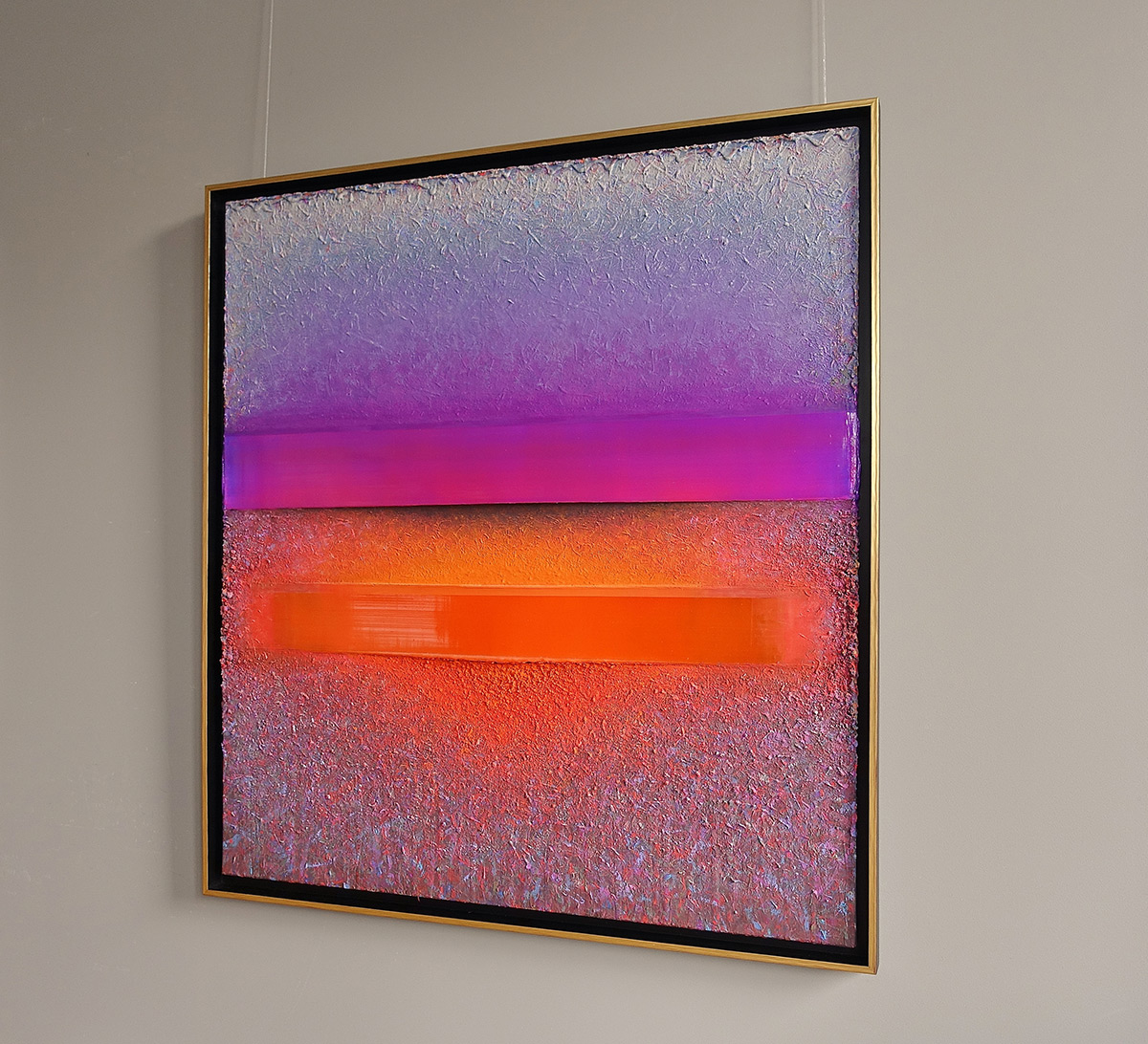 Sebastian Skoczylas : Flicker of violet